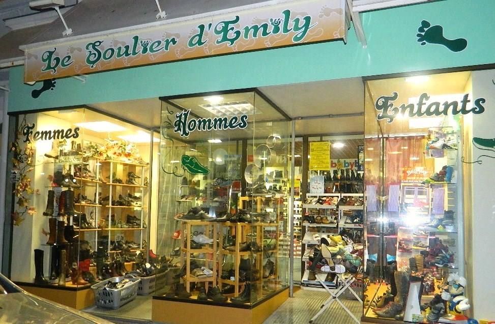 Le soulier d'Emily